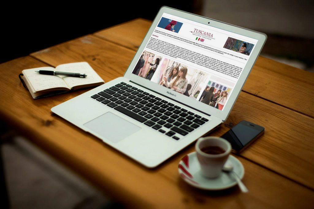 Sito Web Tuscania Industria Conciaria srl