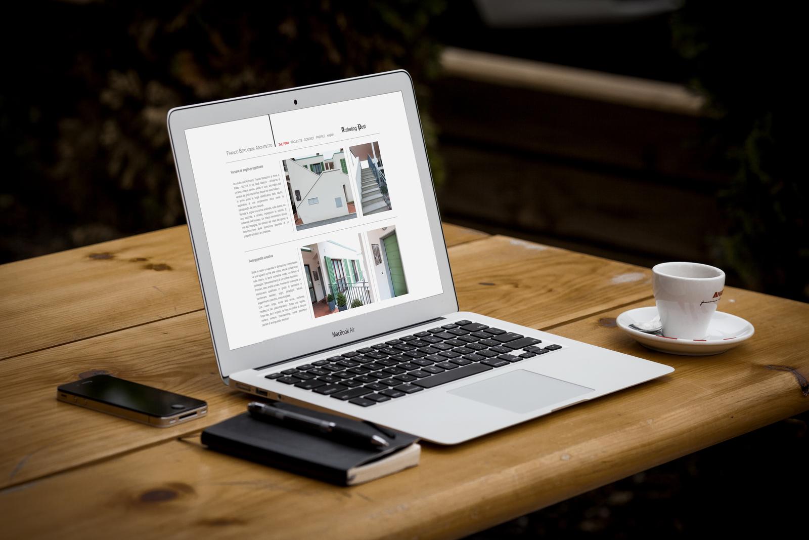 Sito Web Studio di Architettura Franco Bertazzini